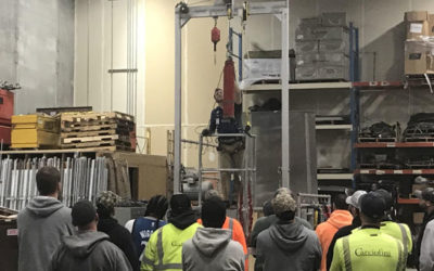 Carciofini Company hosts in-house safety training