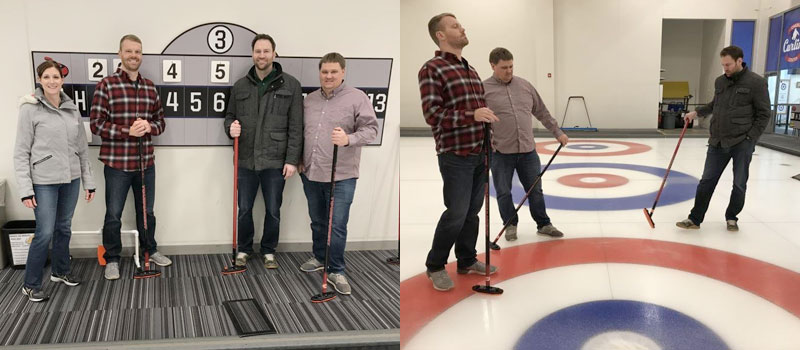 Teamwork and Curling